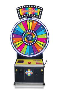 Spin N Win - Bay Tek Games Version